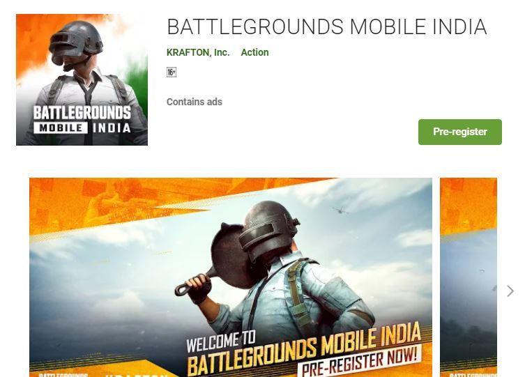 (PUBG) Pre-Registration Rewards and Play Store Link
