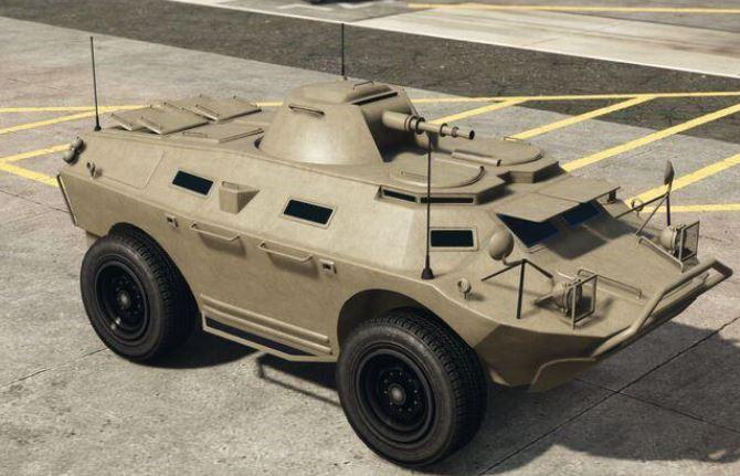 Best Military Vehicles in GTA Online