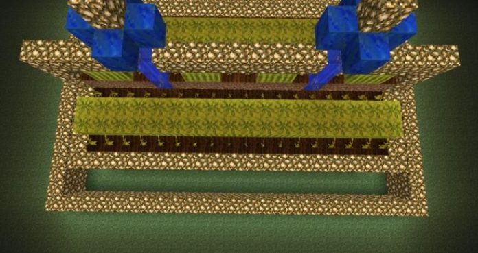 How to make a melon Farm in Minecraft : Step by step guide to build a melon farm in Minecraft