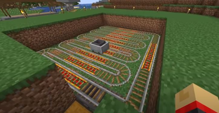 How to make a melon Farm in Minecraft