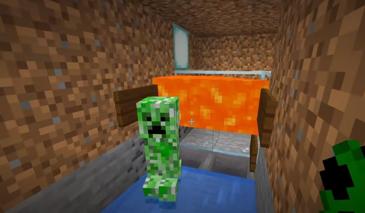 How to make creeper farm in Minecraft
