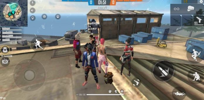 How to Team Up in Free Fire
