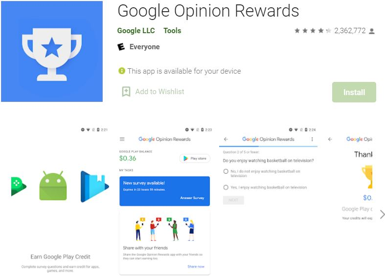 google openion reward  BGMI UC Hack