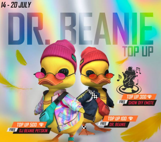 How to get Dr Beanie Pet in Free Fire?