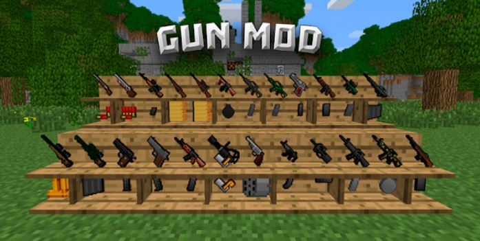 How to reload a gun in minecraft