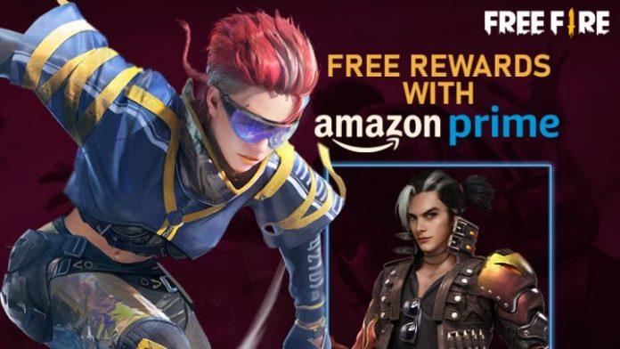Free Fire Amazon Prime Rewards List 2021 : Free Fire Amazon Prime Event.